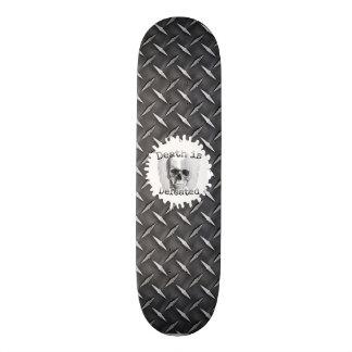 Schwarzer Diamant-Platten-Blick-Skateboard Skateboarddecks