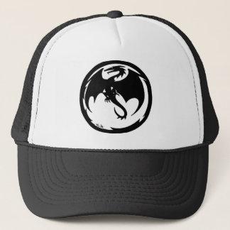 Schwarzer Drachehut Mütze
