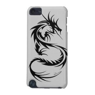 Schwarzer Dracheipod-Kasten iPod Touch 5G Hülle