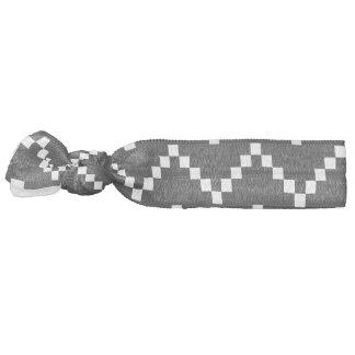 Schwarzer EB-Zickzack Haarschleife