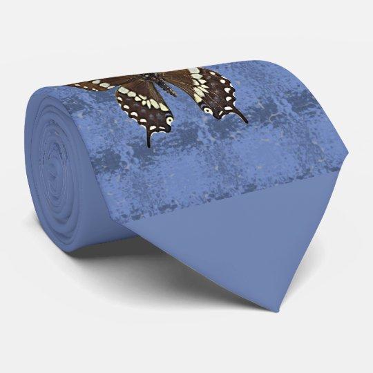 Schwarzer Frack-Schmetterling Oklahomas Personalisierte Krawatten