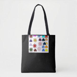 Schwarzer Frauensack Tasche