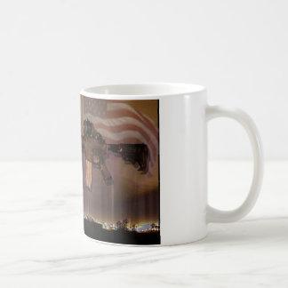 Schwarzer Gewehr-Patriot Kaffeetasse