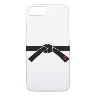 Schwarzer Gürtel, Kampfkünste 黒帯, 武道 iPhone 8/7 Hülle