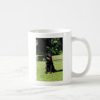 Schwarzer Labrador Kaffeetasse