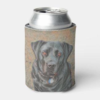 Schwarzer Labrador kann cooler
