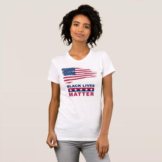 Schwarzer Leben-Angelegenheits-T - Shirt mit