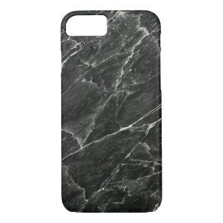 Schwarzer Marmor iPhone 7 Hülle
