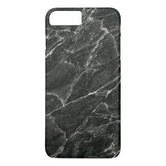 Schwarzer Marmor iPhone 8 Plus/7 Plus Hülle