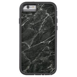 Schwarzer Marmor Tough Xtreme iPhone 6 Hülle