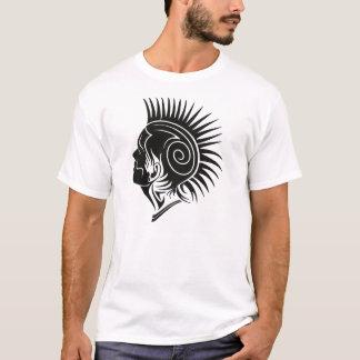 Schwarzer miserabeler Stammes- T-Shirt
