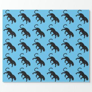 schwarzer Panther Geschenkpapier