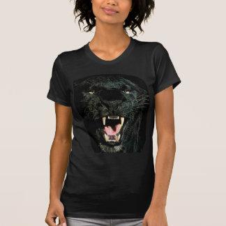 Schwarzer Panther-Knäuel T-Shirt