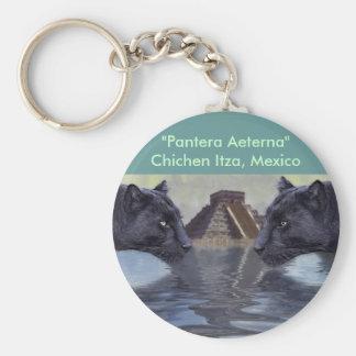 Schwarzer Panther-Mexiko-Sammlung Schlüsselanhänger