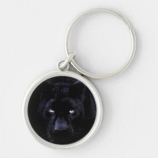 Schwarzer Panther-Schlüsselkette Schlüsselanhänger