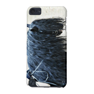 Schwarzer Pferdekopf iPod Touch 5G Hülle