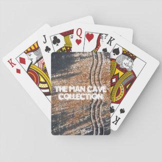 Schwarzer rostiger Schmutz-Hintergrund Spielkarten