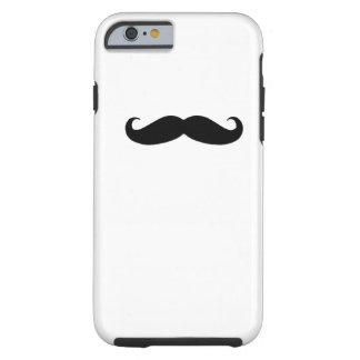 Schwarzer Schnurrbart iPhone 6 Kasten Tough iPhone 6 Hülle