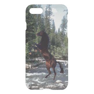 Schwarzer Stallion iPhone 8/7 Hülle