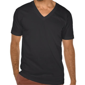 Schwarzer Swoldier Nation V-Hals T-Shirts