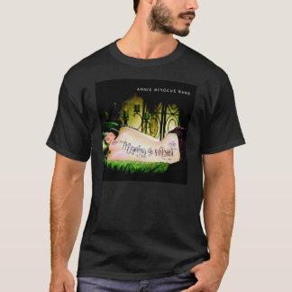 Schwarzer T - Shirt Annie Minogue