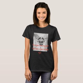 schwarzer T - Shirt Halloweens, Spinnenschädel