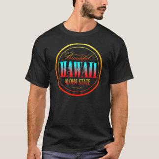 Schwarzer T - Shirt Hawaiis