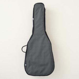 Schwarzer und grauer gitarrentasche