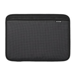 Schwarzer und grauer MacBook air sleeve