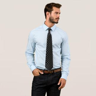 Schwarzes auf schwarzer OPkunst-Krawatte Bedruckte Krawatten