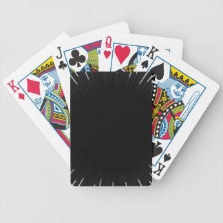 Schwarzes Bicycle Spielkarten