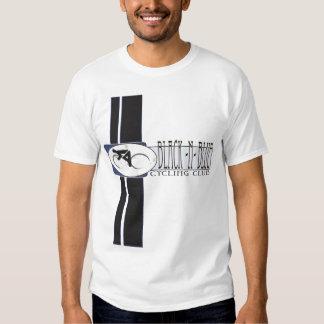 Schwarzes blaues Radfahren n Shirt