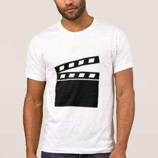 Schwarzes Clapperboard T-Shirt