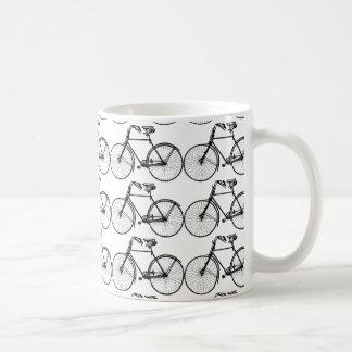Schwarzes Fahrrad für sportlichen Mann Kaffeetasse