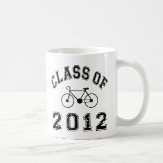 Schwarzes Fahrrad Kaffeetasse