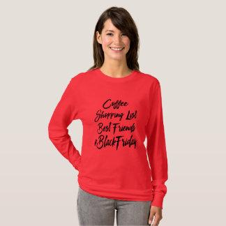 Schwarzes Freitag-EinkaufsShirt T-Shirt