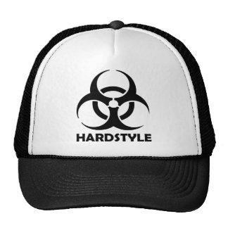 schwarzes hardstyle Stammes- Baseball Cap