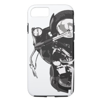 Schwarzes Harley Motorrad iPhone 8/7 Hülle