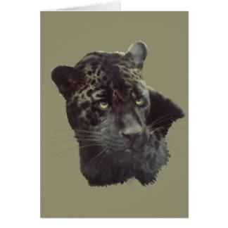 Schwarzes Jaguar Karte
