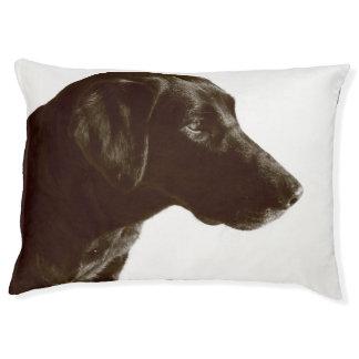 Schwarzes Labrador-Hundebett Haustierbett
