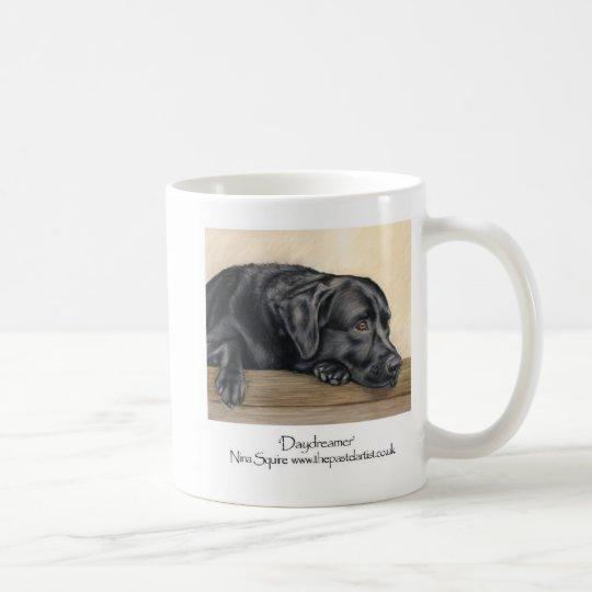 Schwarzes Labrador Tasse