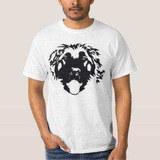 Schwarzes Leonberger war hier T-Shirt