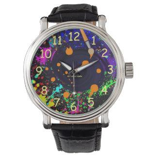 Schwarzes Loch-neue Farben-Ausgabe! Armbanduhr