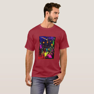 Schwarzes Loch-neue Farben-Ausgabe T-Shirt