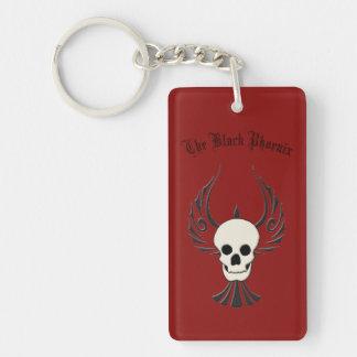 Schwarzes Phoenix Keychain Schlüsselanhänger