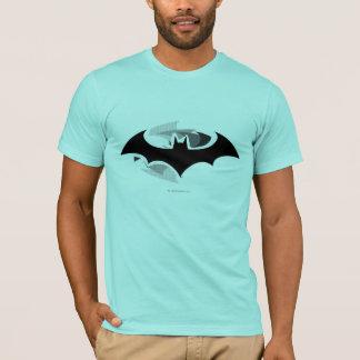 Schwarzes Schatten-Logo Batman-Symbol-| T-Shirt