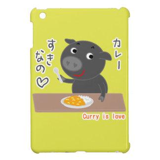 Schwarzes Schwein des Chelsea-Liebecurrys! iPad Mini Hülle