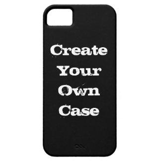 Schwarzes stellen Ihren eigenen Fall her Hülle Fürs iPhone 5