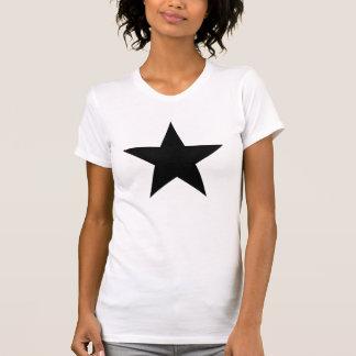 SCHWARZES STERN-T-SHIRT T-Shirt