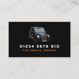 Schwarzes Taxi, Preisliste Visitenkarte